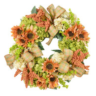 Watervale Silk Fall Front Door Wreath
