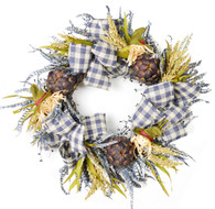Dewitt Silk Autumn Door Wreath