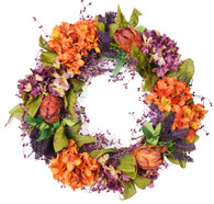 Homewood Silk Fall Front Door Wreath