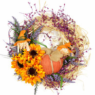 Briarwood Harvest Silk Fall Door Wreath