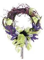 Mosswood Silk Decorative Door Wreath