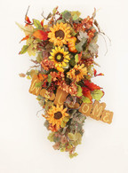 Wenonah Autumn Harvest Swag 28 in