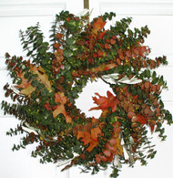 Appalachia Eucalyptus Wreath - 17 inch