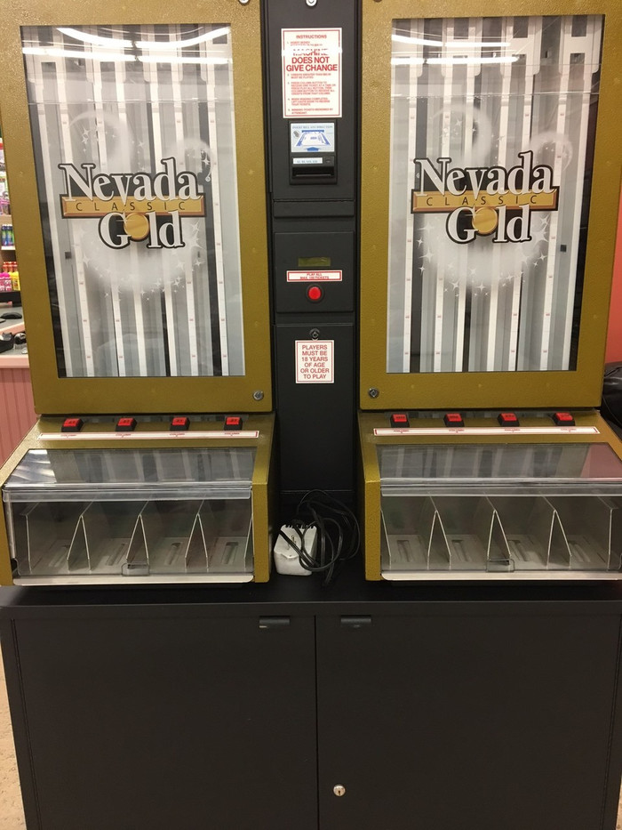 Nevada Gold Pull Tab Dispenser