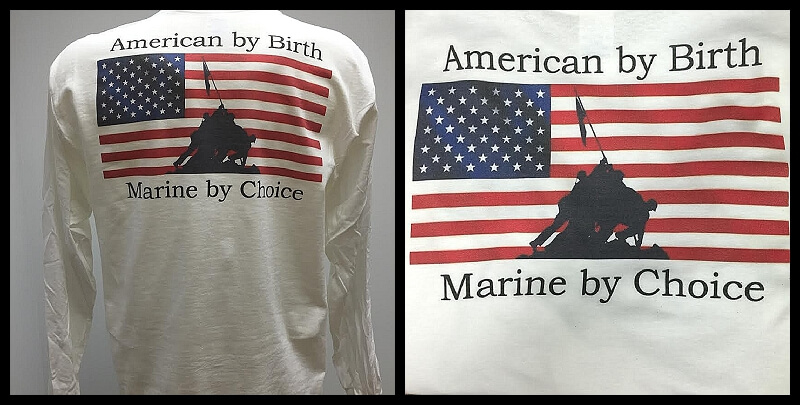 American By Birth Marine By Choice Shirt And Motorcycle Shirts