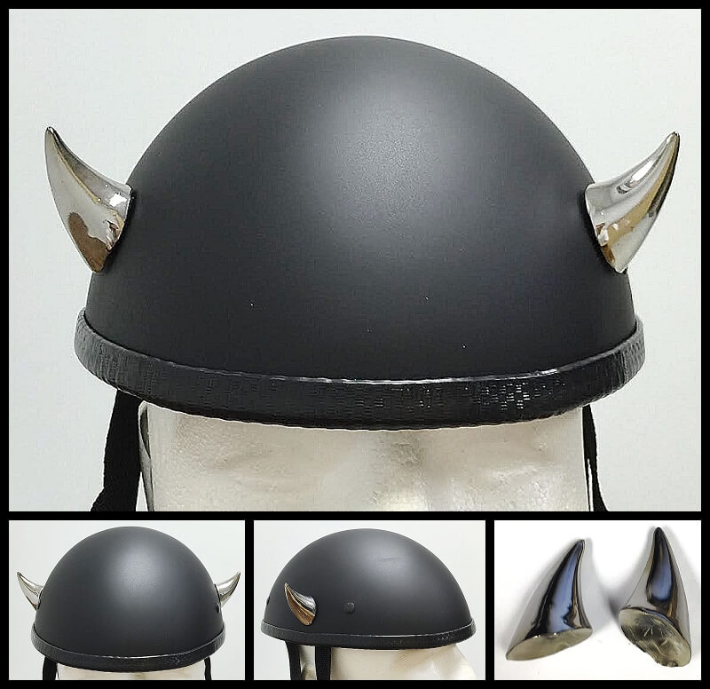 Helmet Devil Horns Motorcycle Helmet Horns