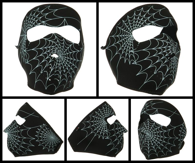 spider face mask