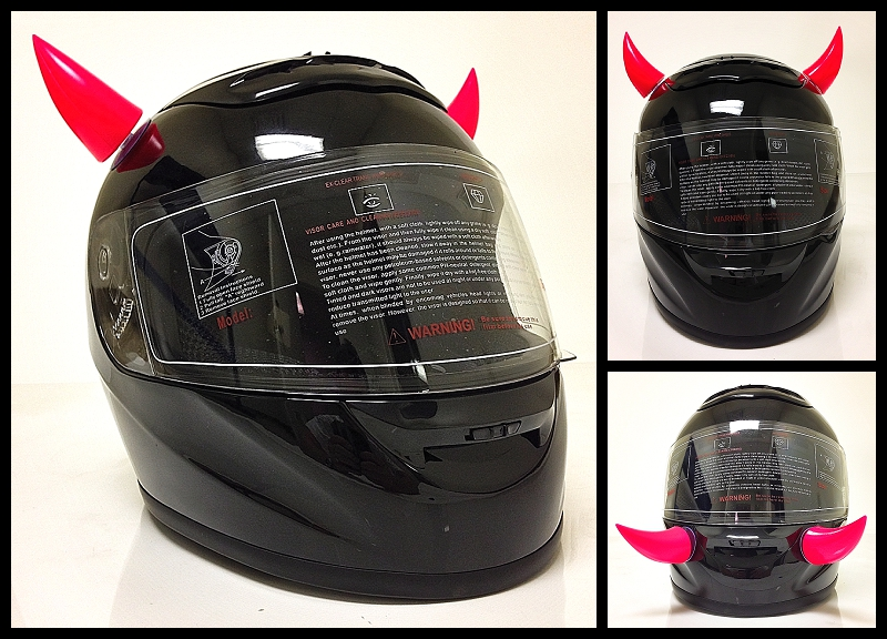 Motorcycle Helmets Horns Horns For Your Motorcycle