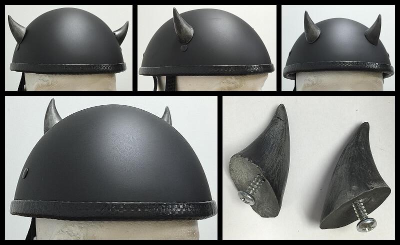 Helmet Devil Horns Motorcycle Helmet Horns