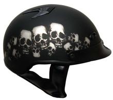 Skull Pile Motorcycle Helmet
