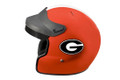 DOT Georgia Bulldog Motorcycle Helmet