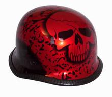 Bone Yard German Novelty Motorcycle Helmet
