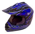 DOT Certified BLUEG Kids MX Motocross Helmet - Motorcycle ATV Helmet