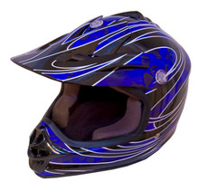 DOT Certified BLUEG Kids MX Motocross Helmet - Motorcycle ATV Helmet