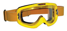 Yellow MX Goggles