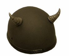 Demon Horns Grooved- Silver