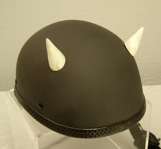 Helmet Devil Horns Bone Devil Motorcycle Helmet