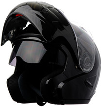 DOT Double Retractable Visor Modular Motorcycle Helmet