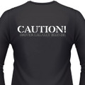 Caution! Driver Legally Blonde Biker T-Shirt