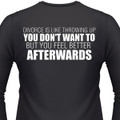 Divorce Is Like Throwing Up. You Don't Want To, But You Feel Better Afterwards Biker T-Shirt