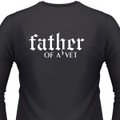 Father Of A Vet Biker T-Shirt