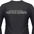 Friends Don't Let Friends Ride Rice Burners Biker T-Shirt