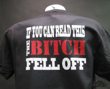 if you can read this the bitch fell off
