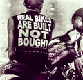 Real Bikes are Built NOT Bought shirt