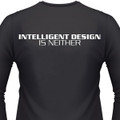 Intelligent Design Is Neither Biker T-Shirt