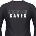 Jesus Saves Biker T-Shirt