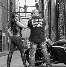 Shut the fuck up and ride shirt