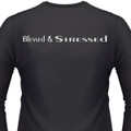 Blessed & Stressed Biker T-Shirt