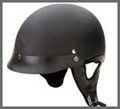 Flat Black Motorcycle Helmet