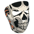 Tribal Skull Neoprene Face Mask
