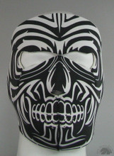 Tribal Moko Face Mask