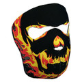 Blackout Skull Neoprene Face Mask