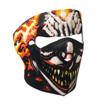 Smoking Clown Neoprene Face Mask