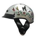 DOT Butterfly Shorty Motorcycle Helmet