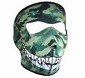 Camo With Teeth Neoprene Face Mask