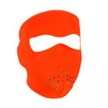 Safety Orange Neoprene Face Mask