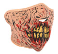 Zombie Neoprene Half Face Mask