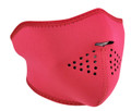 Hot Pink Neoprene Half Face Mask