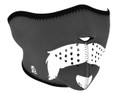 Glow in the Dark Mo Scruffy Neoprene Half Face Mask