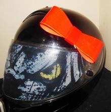 Red Motorcycle Helmet Bow