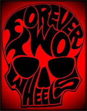 Forever Two Wheels shirt