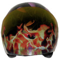 Fire Flames Motorcycle Helmet Visors Sticker