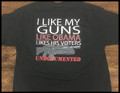 I like my guns like Obama likes his voters Shirt