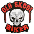 Old Skool Biker Patch