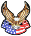 Eagle Banner Back Patch