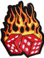 Flaming Dice Patch
